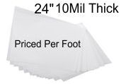 24 inch roll stock priced per foot