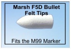 M99 Marsh Refillable Marker Felt-Tip Marker