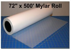 72 inch x 500 feet Mylar Roll