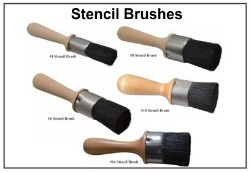 Stenciling Brushes