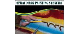 Vinyl Spray Mask Stencils, 1