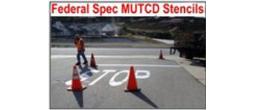 (MUTCD) Federal Specification Stencils