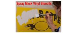 Spray Mask Vinyl Stencils