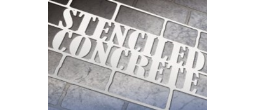 Concrete Decor Stencil Kits