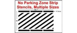 Parking Line Stripping Stencils
