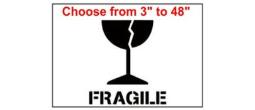 Fragile Freight Stencil