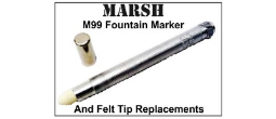 Marsh 99 Refillable Marker Felt-Tip Marker