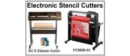 Stencil Cutting Machine, Electronic
