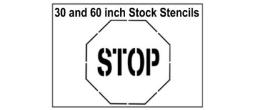 Street Stop Sign Stencils