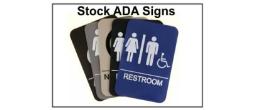Stock ADA Signage