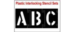 lnterlocking Plastic Stencil Sets