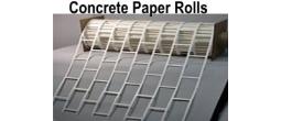 Concrete Decor Paper Roll Stock