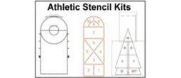 Athletic Stencil Kits