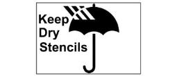 Keep Dry Stencils 2