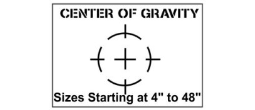 Center of Gravity Stencil