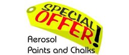 Krylon Aerosol Paint & Chalk Specials