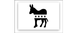 Democrat Party Logo Stencils
