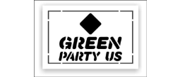 Green Party Logo Stencils