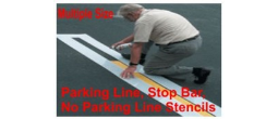 Parking Line Stripe Stencils