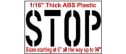 Street Stop Stencils