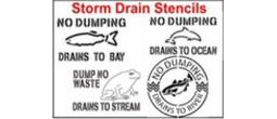 Storm Drain Stencils