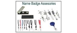 Name Badge Assesories