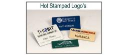 Hot Stamped Badges