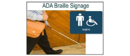 Custom ADA Signs with Braille