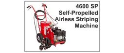 4600 SP Self-Propelled Airless Striping Machine
