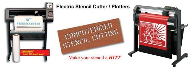 Stencil Machine Stencil Cutting Machine, Electronic  Electronic Stencil SC-5 Machine