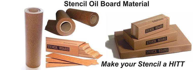 Oil Board Rolls and Pre-Cut Sizes oil board stencil material marsh oil board diagraph oil board personalized stencils oilboard stencil oilboard stencil supplies
