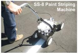 pavement striper machine