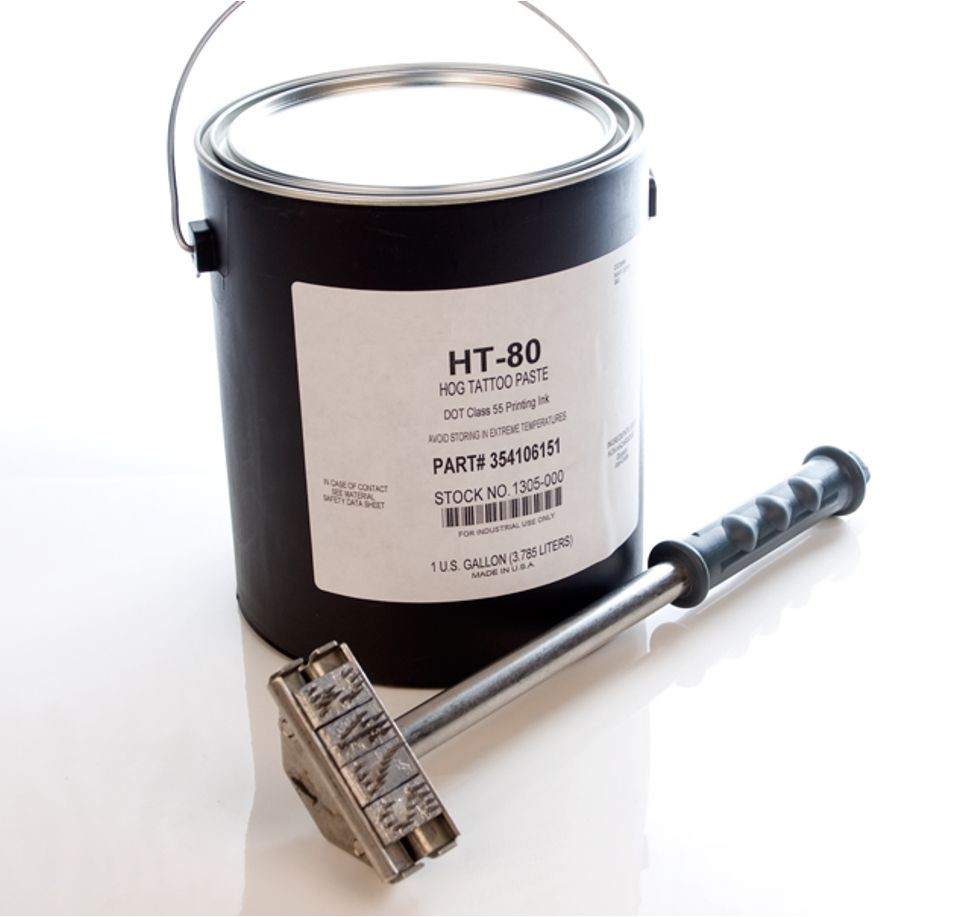 HT 80 Black - Hog Tattoo Paste Ink